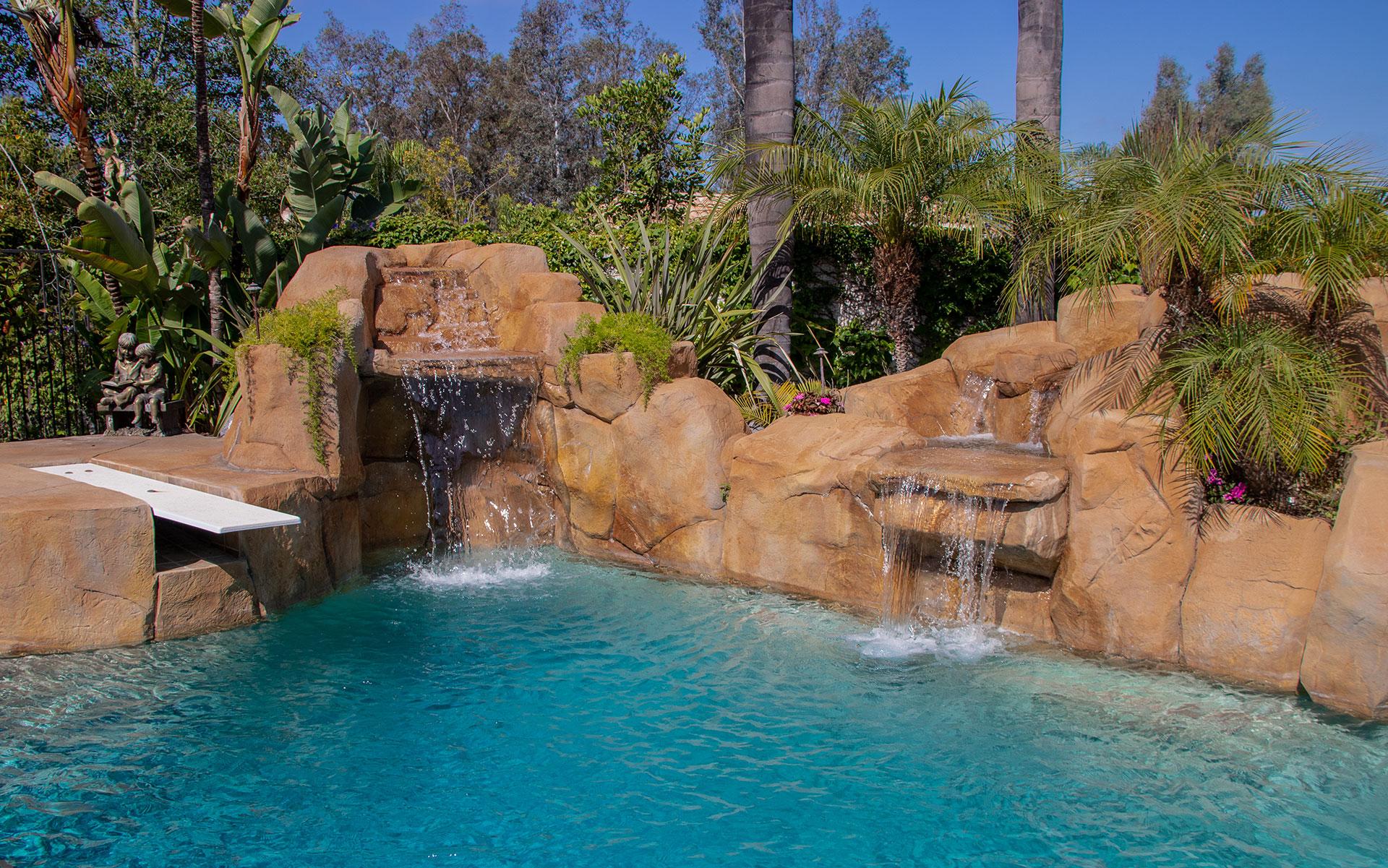 Ferris Texas swimming pool renovation
