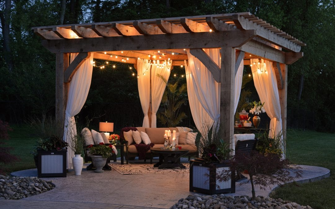 Why Pools and Pergolas Go Hand in Hand?